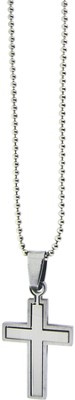Cross Puzzle Necklace Small  -