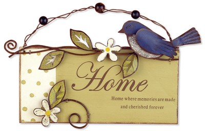 Home Where Memories Are Made Plaque  -