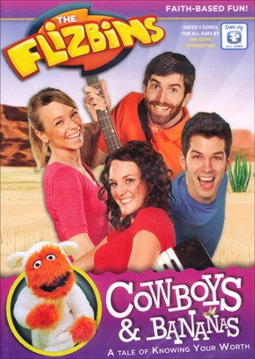 The Flizbins: Cowboys & Bananas, DVD    -
