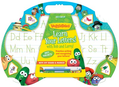 Learn Your Letters with Bob and Larry Writing Tablet   -