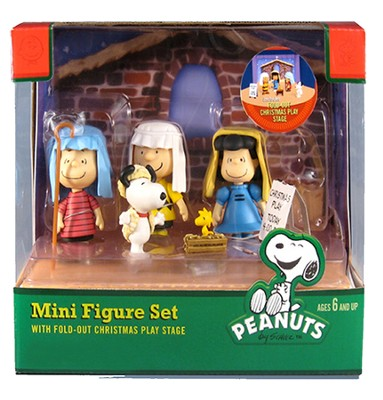 Mini Pageant Display Figures, Set of 5  -