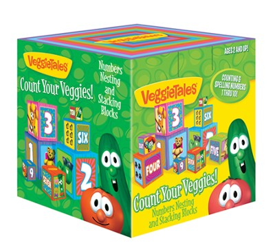 Count Your Veggies: Numbers Nesting and Stacking Blocks   -