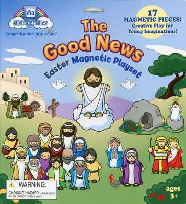 The Good News--Easter Magnetic Playset   -