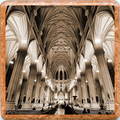 St. Patrick's Cathedral Trivet   -