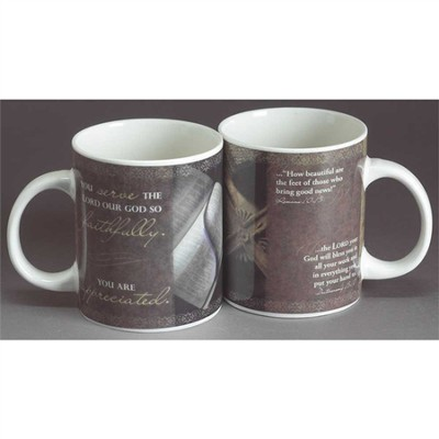 Serve Faithfully--Ceramic Mug   -
