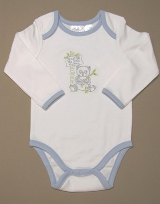Jesus Loves the Little Children Romper, Boy, 3-6 Months  -