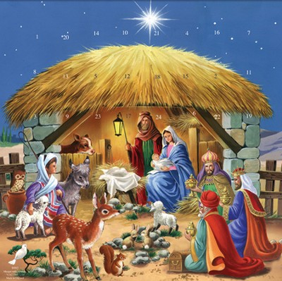 The Manger Advent Calendar  -