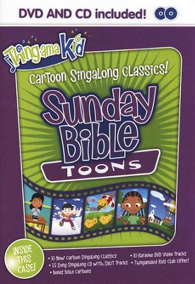 Sunday Praise Toons- DVD with bonus CD   -