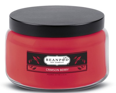 Crimson Berry, 8 oz. Jar Candle  -