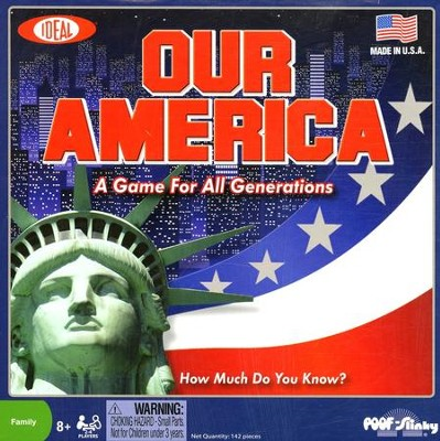 Our America Trivia Board Game   -