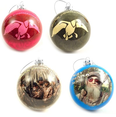 Duck Dynasty Christmas Ornaments, Set of 4  -