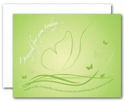 Blank Notecards, Butterfly, Pack of 10  -