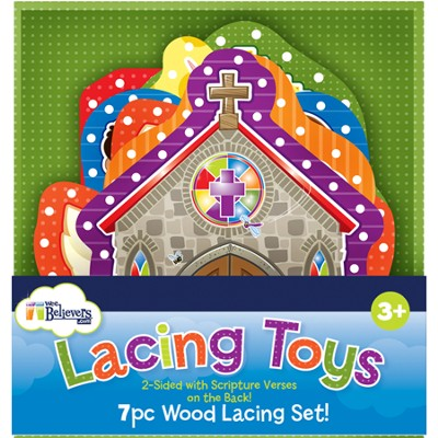 Inspirational Wood Lacing Toys  -