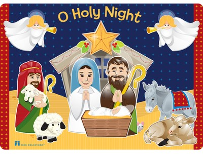 Nativity Placemat  -