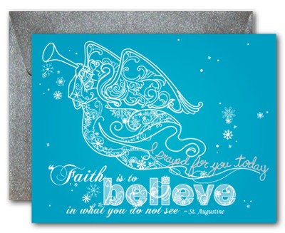 Blank Notecards, Believe Angel, Pack of 10  -