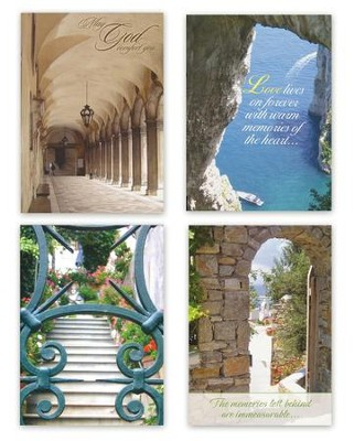 Passages Sympathy Cards, Box of 12   -     By: Gigi Tocquigny