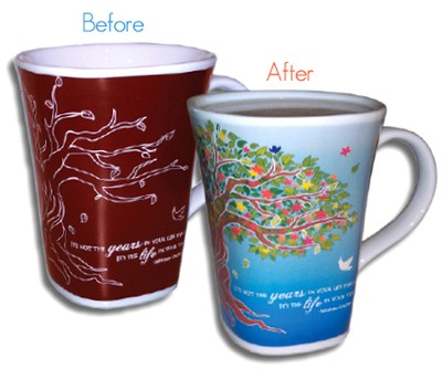 Color Changing Mug, Life  -