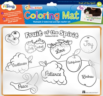 Fruit of the Spirit Coloring Mat  -