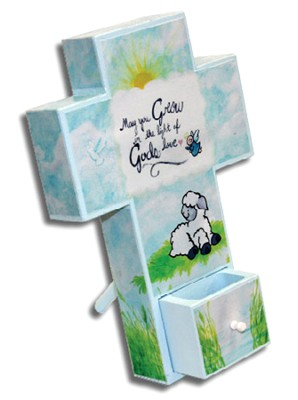 Canvas Wall Cross. Child, Small  -