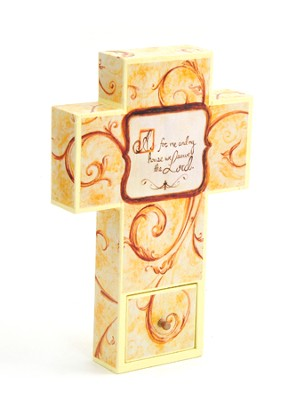 Canvas Wall Cross, Family, Small  -