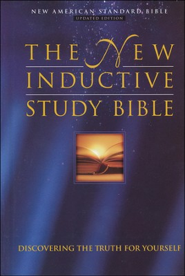 NAS New Inductive Study Bible, Hardcover, Thumb-Indexed   -     By: Kay Arthur