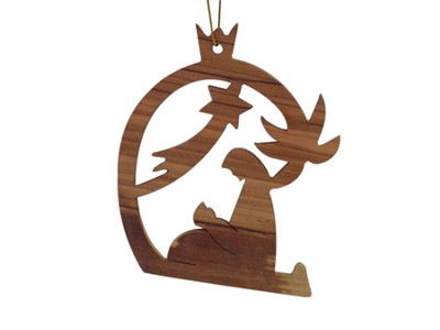 Nativity Mother and Baby Ornament  -