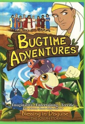 Bugtime Adventures: Blessing in Disguise (The Joseph Story), DVD   -