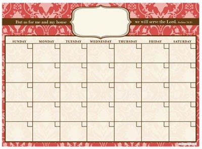 This is the Day That the Lord Has Made Vinyl Fabric Wall Calendar  -