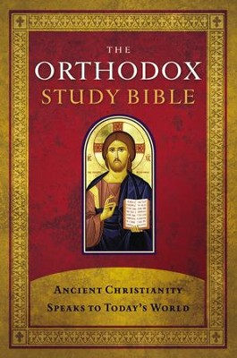 The Orthodox Study Bible - Hardcover edition  -