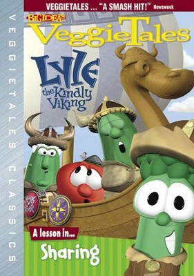 Lyle, The Kindly Viking, VeggieTales DVD   -
