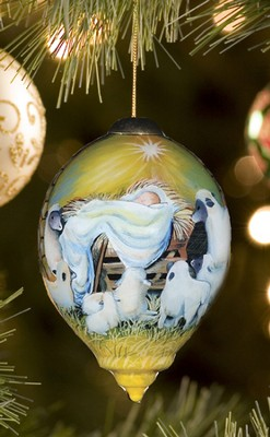 Joy To The World, Ne'Qwa Art Ornament   -     By: Susan Winget