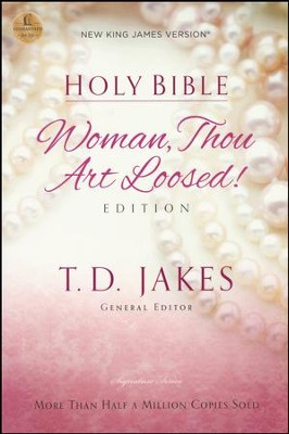 NKJV Woman, Thou Art Loosed Bible, softcover - Slightly Imperfect   -