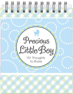 Precious Little Boy Easel Book  -
