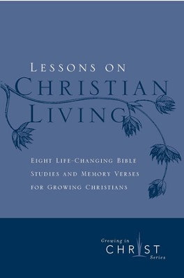 Lessons on Christian Living-8 sessions (Classic Ed.)   -     By: The Navigators