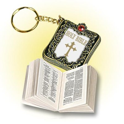 Smallest Bible Key Ring   -