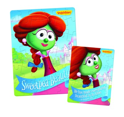 Sweetpea Beauty Lenticular Puzzle   -