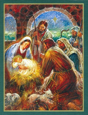 He Is Born Christmas Cards, Deluxe Box of 18  -     By: Stewart Sherwood