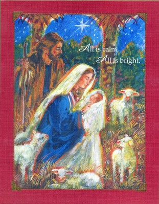 Silent Night Christmas Cards, Deluxe Box of 18  -     By: Stewart Sherwood