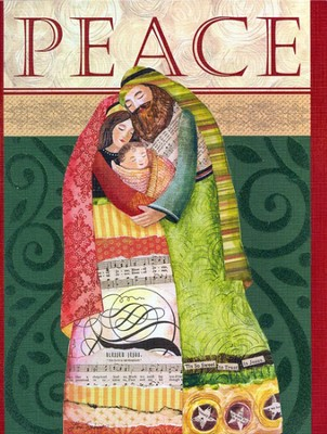 Be At Peace Christmas Cards, Deluxe Box of 18  -     By: Lori Siebert