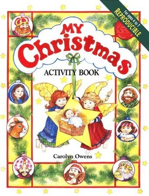 My Christmas Activity Book   -     By: Carolyn Owens