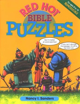 Red Hot Bible Puzzles   -     By: Nancy I. Sanders