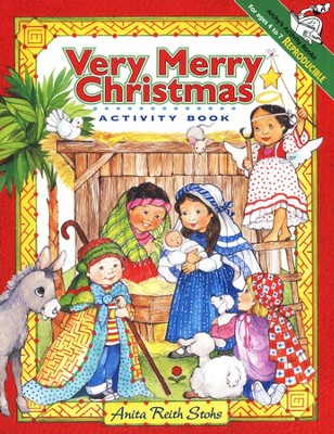 The Very Merry Christmas Activity Book    -     By: Larry Nolte