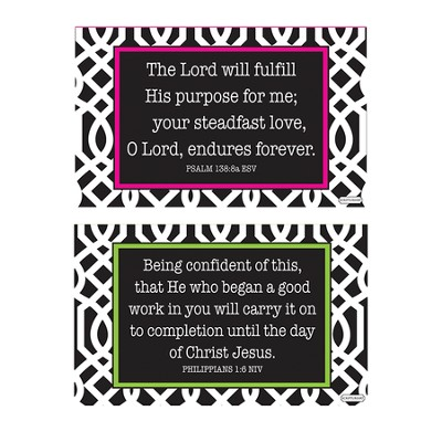 Finding Purpose Decals, Black and White, Pack of 2  -