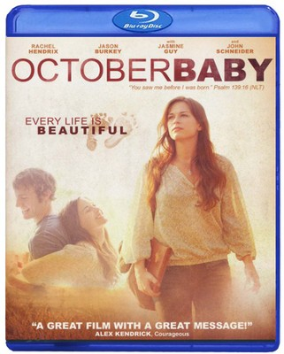 October Baby, Blu-ray    -