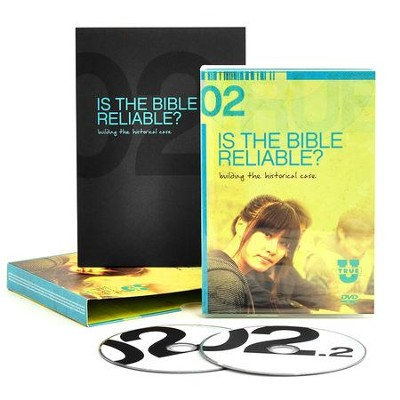 TrueU 02: Is the Bible Reliable? Building the Historical Case -  DVD + Discussion Guide Set  -