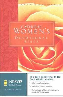 NRSV Catholic Women's Devotional Bible, Softcover - Slightly Imperfect  -