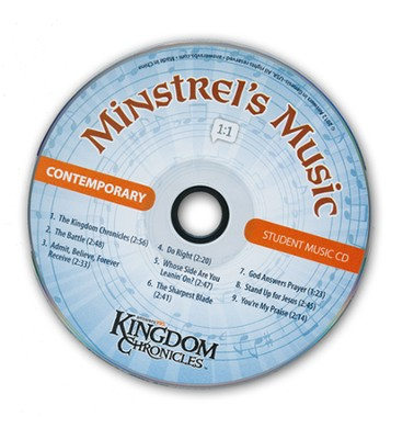 Kingdom Chronicles Student CD, Contemporary (pack of 10)  -
