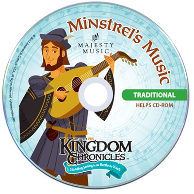 Kingdom Chronicles Student CD, traditional (pack of 10)  -
