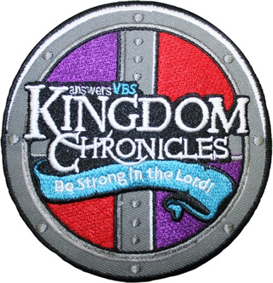 Kingdom Chronicles Iron-on patch  -