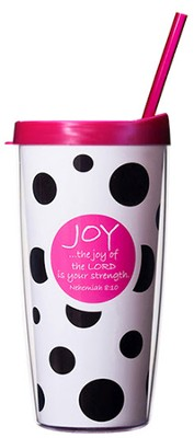 Joy of the Lord...Mug with Straw                       -